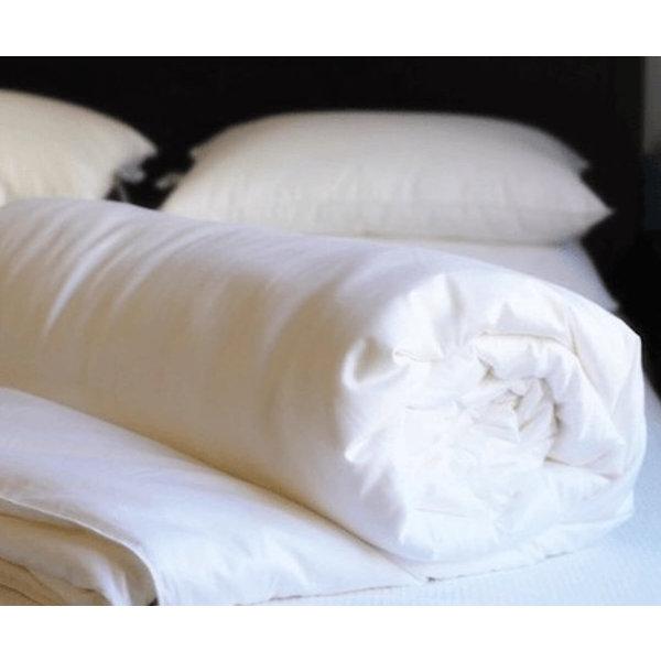 Übergangszeit Seidenbettdecke mit Baumwolle Bezug
