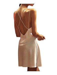 Damen Seiden Negligé / Kleid
