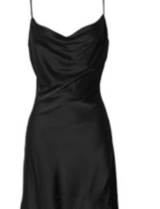 Damen Seiden Kleid