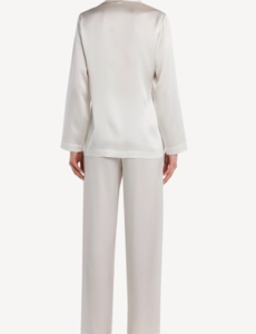 Damen Seiden Pyjama-Set