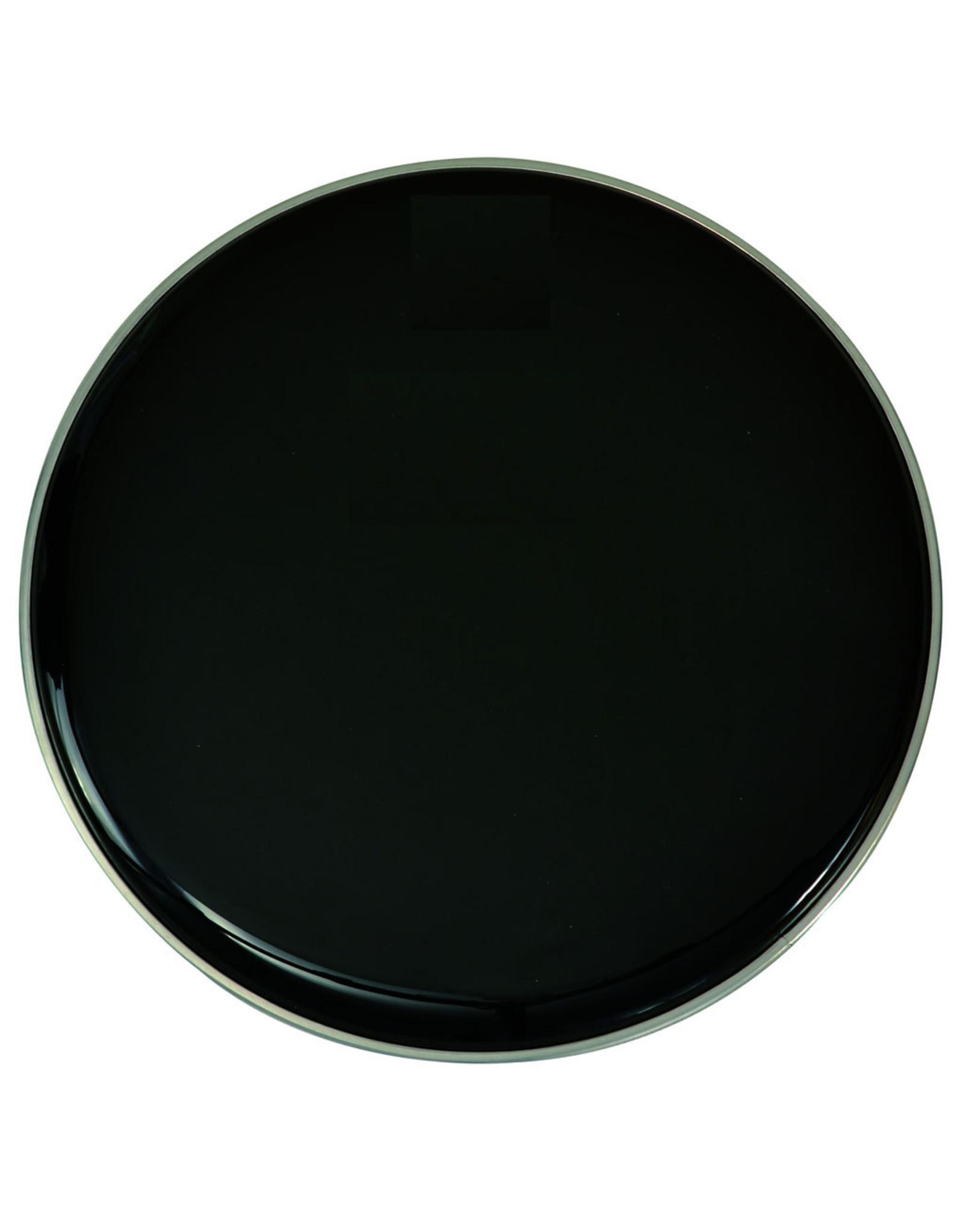 Ramm®  Bass Drum Head 24 Inch   Black   Resonance