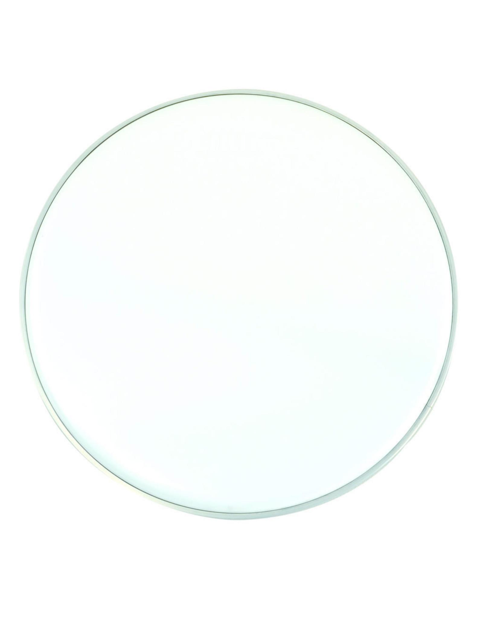Ramm® Bassdrumvel 22 Inch | Transparant | Slagvel