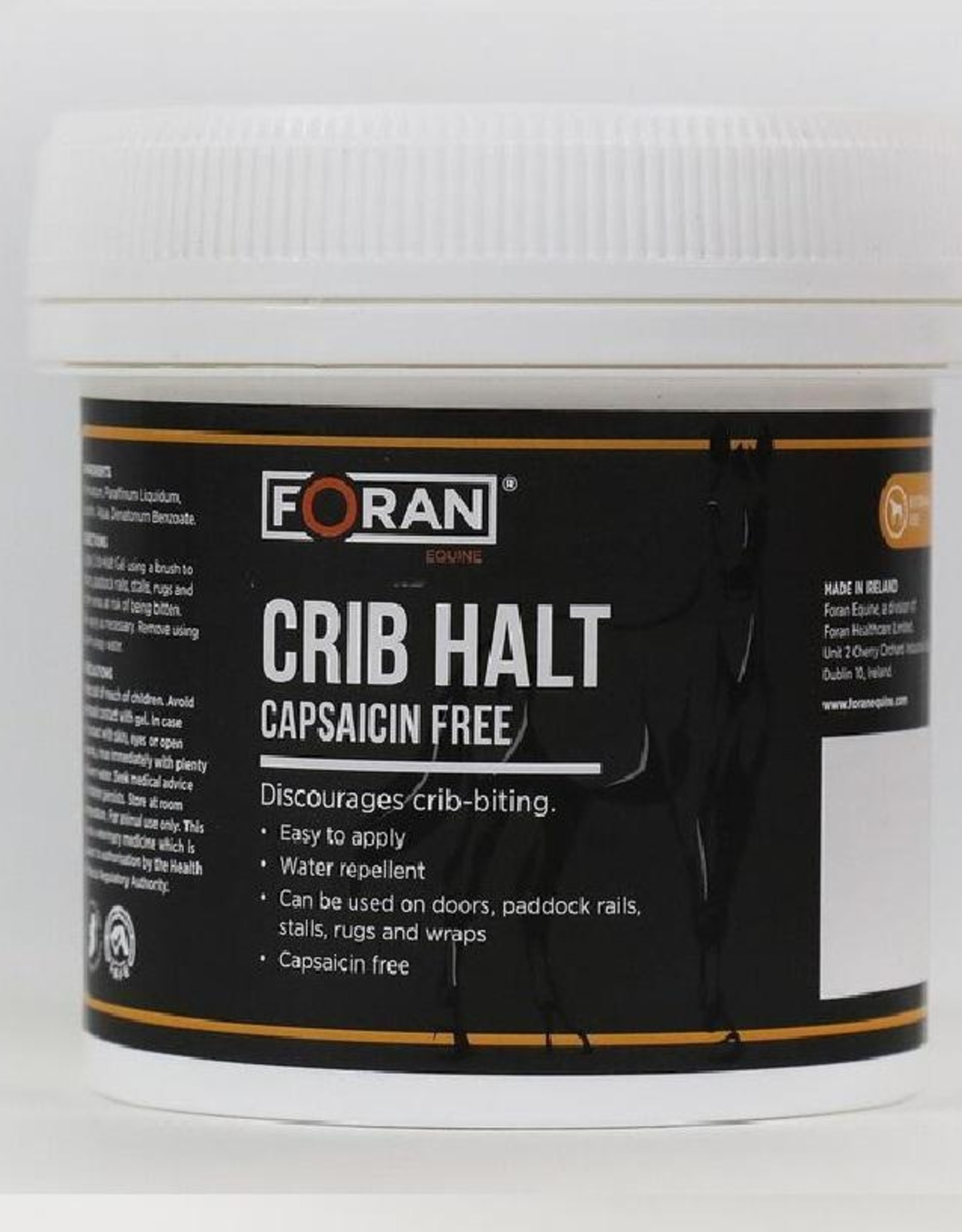 Foran Equine Crib-Halt Capsaicin Free