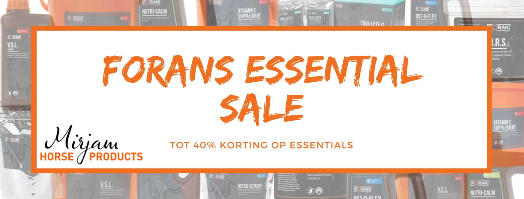 Maak kennis met Foran's Essentials