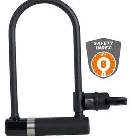 AXA Newton 230 / 14 Key U-Lock. SILVER Sold Secure