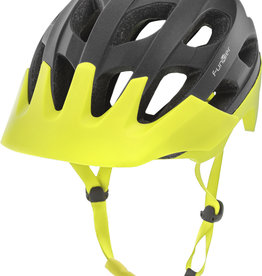 Funkier Camba MTB All Mountain Helmet in Black/Neon Yellow