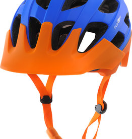 Funkier Camba MTB All Mountain Helmet in Blue/Orange