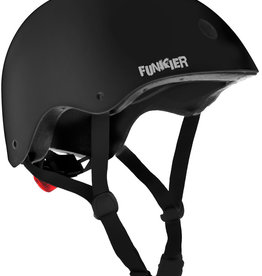Funkier Capella BMX/Urban Helmet in Black