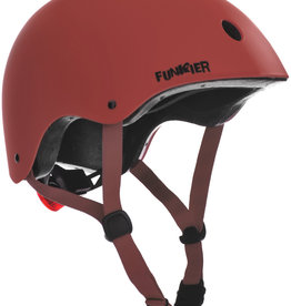 Funkier Capella BMX/Urban Helmet in Red