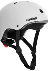 Funkier Capella BMX/Urban Helmet in White