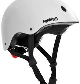Funkier Capella BMX/Urban Helmet in White