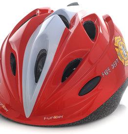 Funkier Talita Kids Helmet in Fire Dept Red