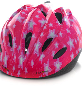 Funkier Talita Kids Helmet in Pink Stars