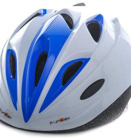 Funkier Talita Kids Helmet in White/Blue