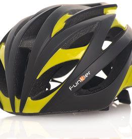 Funkier Tejat Road Elite Helmet in Black/Neon