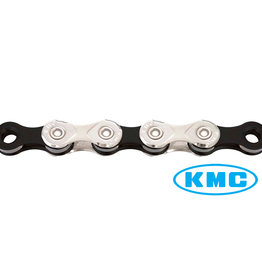 KMC X10 - 10 Speed Chain in Silver/Black (Loose)