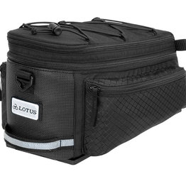 Lotus SH-506D Commuter Expandable Rack Top Bag (6.8L / 8.7L)
