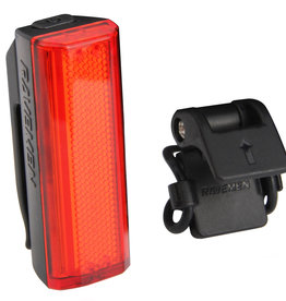 Ravemen TR20 USB Rechargeable Rear Light in Black (20 Lumens)