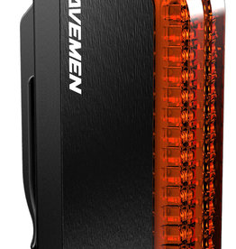Ravemen TR50 USB Rechargeable Rear Light in Black (50 Lumens)