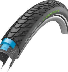 Schwalbe Marathon E-Plus Addix-E Performance Smart DualGuard Tyre in Black (Wired)