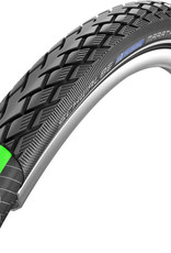 Schwalbe Marathon GreenGuard Touring Endurance Compound Tyre in Black/Reflex