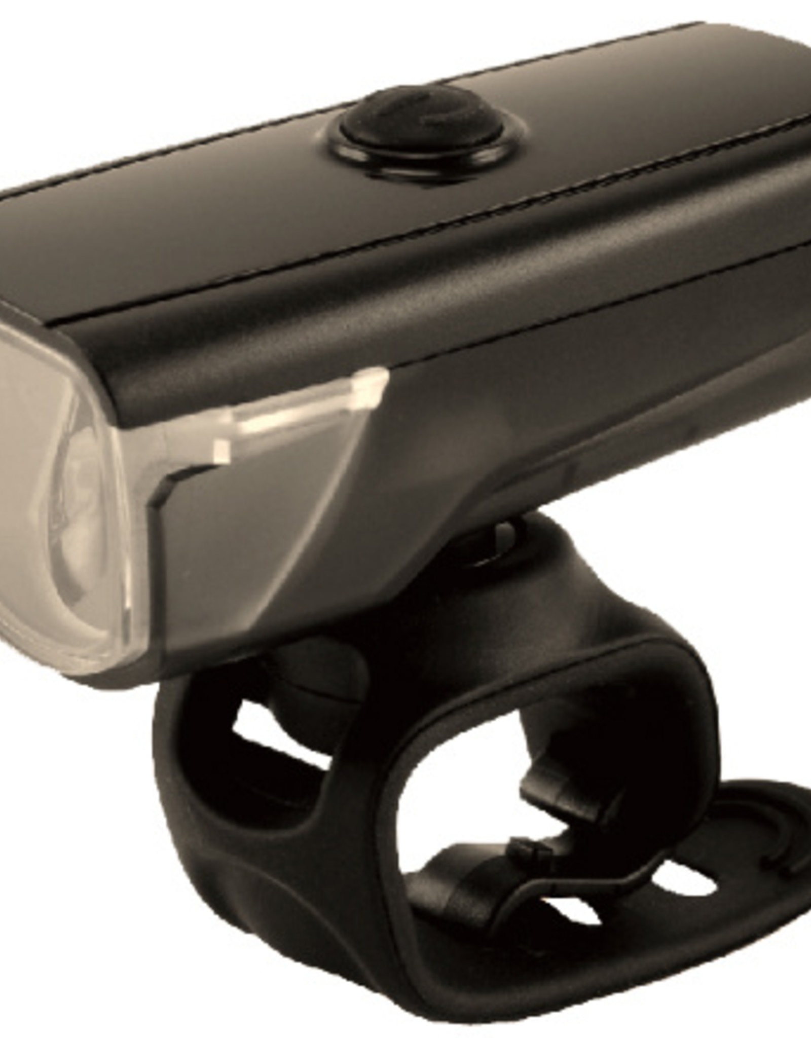 Smart Rays 150 (150 Lumens / 25 LUX) Front USB Rechargeale Light in Black