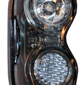 Smart TL321-WW-02 USB Front Rechargeable Light in Black (20 Lumens / 200 Candela)