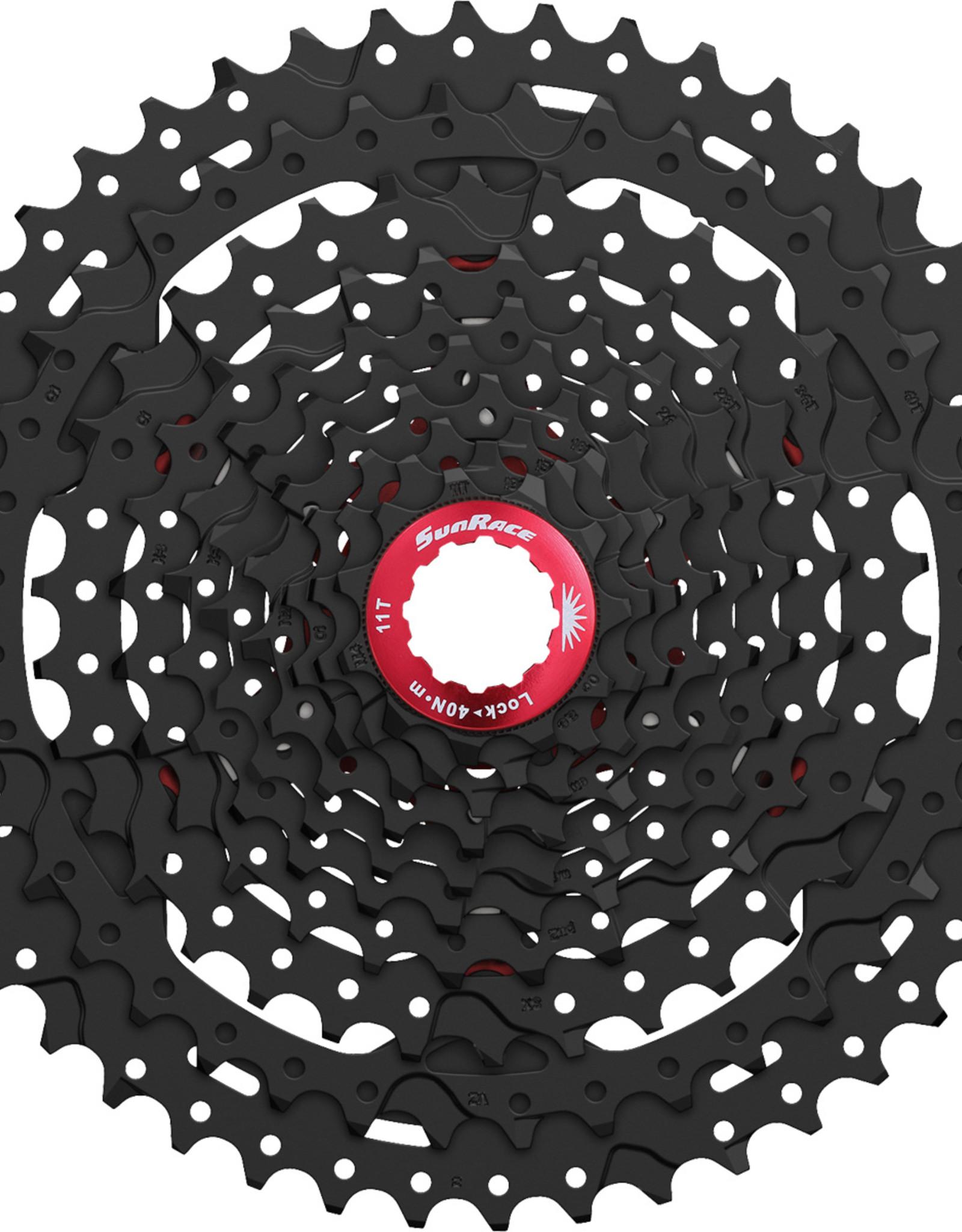 SunRace CSMX3 - 10 Speed MTB 11-42T Black Cassette
