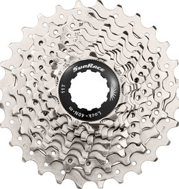 SunRace CSRS0 - 10 Speed Road 11-28T Metallic Cassette
