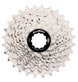 SunRace CSRS1 - 10 Speed Road 11-28T Metallic Cassette