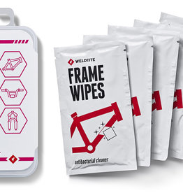 Weldtite Dirtwash Frame Wipes (4 Pack)