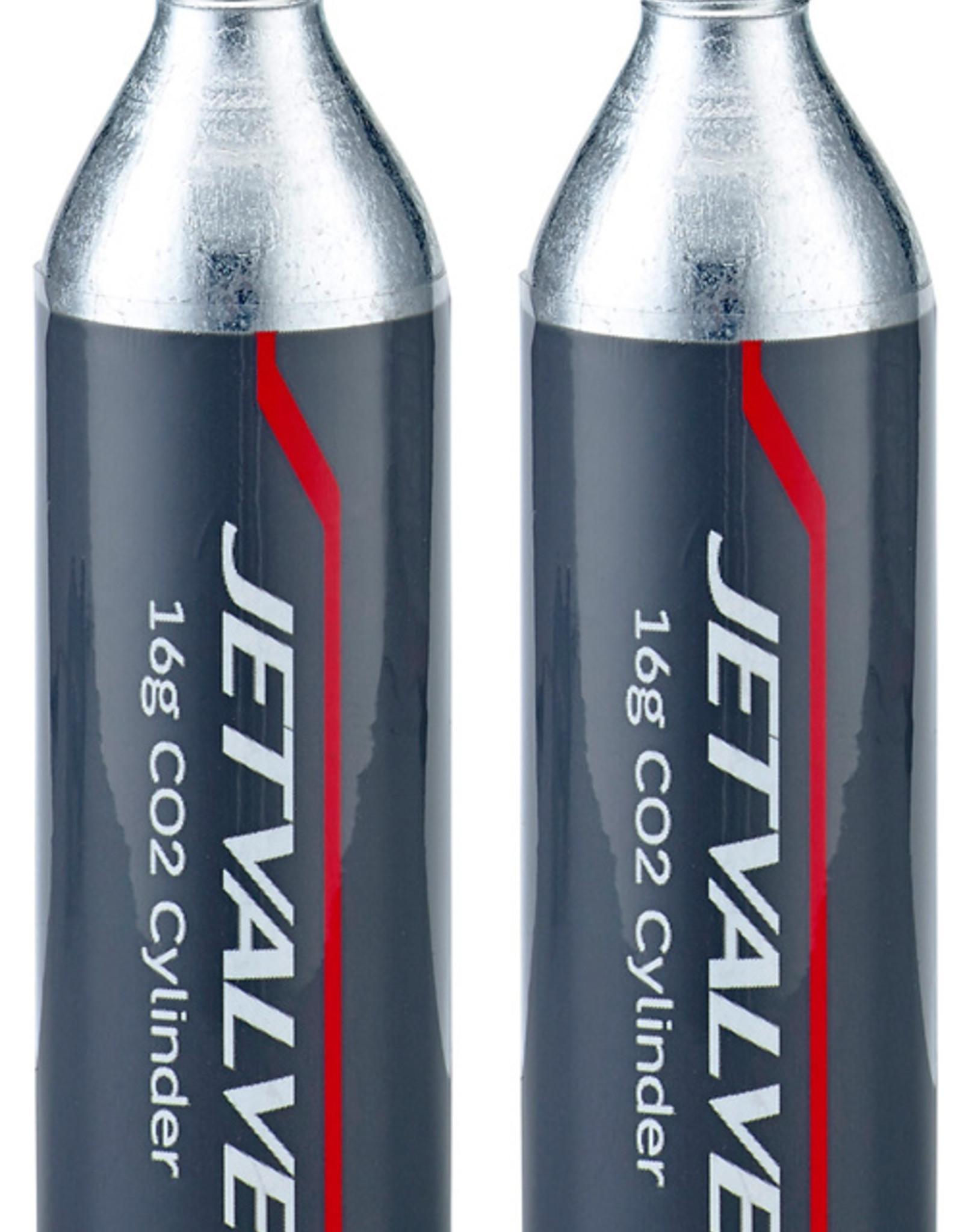 Weldtite Jet Valve CO2 Cylinders 16g (Pack of 2)