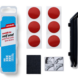 Weldtite Self Seal Patch Kit with Tyre Levers (Box of 12)