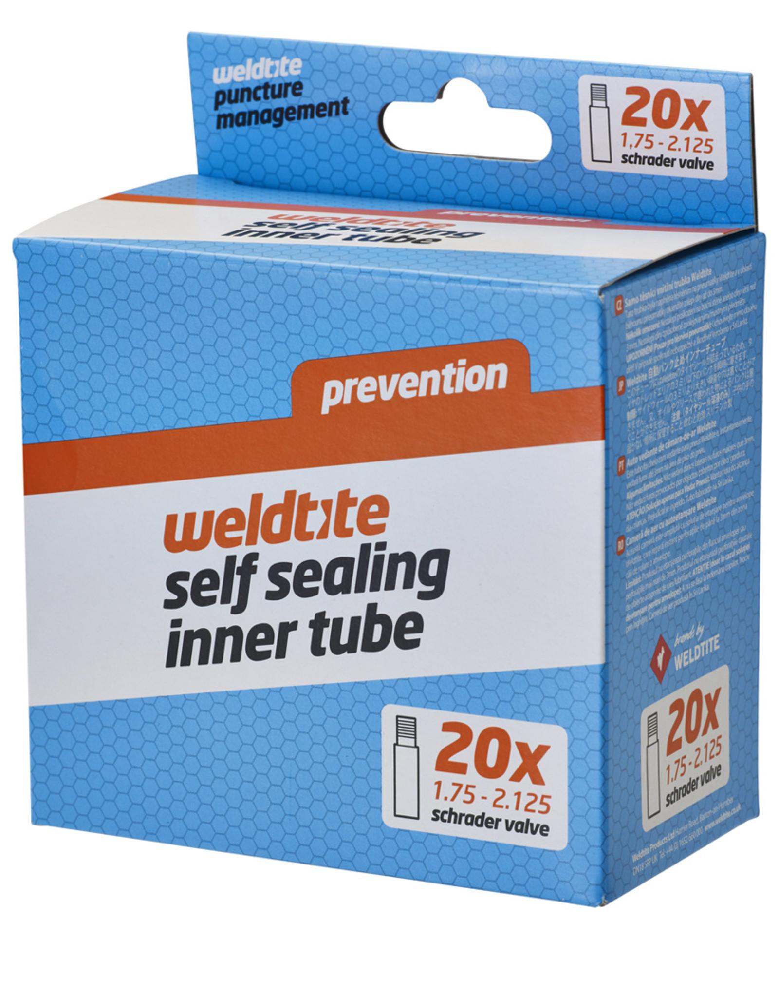Weldtite Self Sealing Inner Tube - 20 x 1.75 - 2.125��� - Schrader