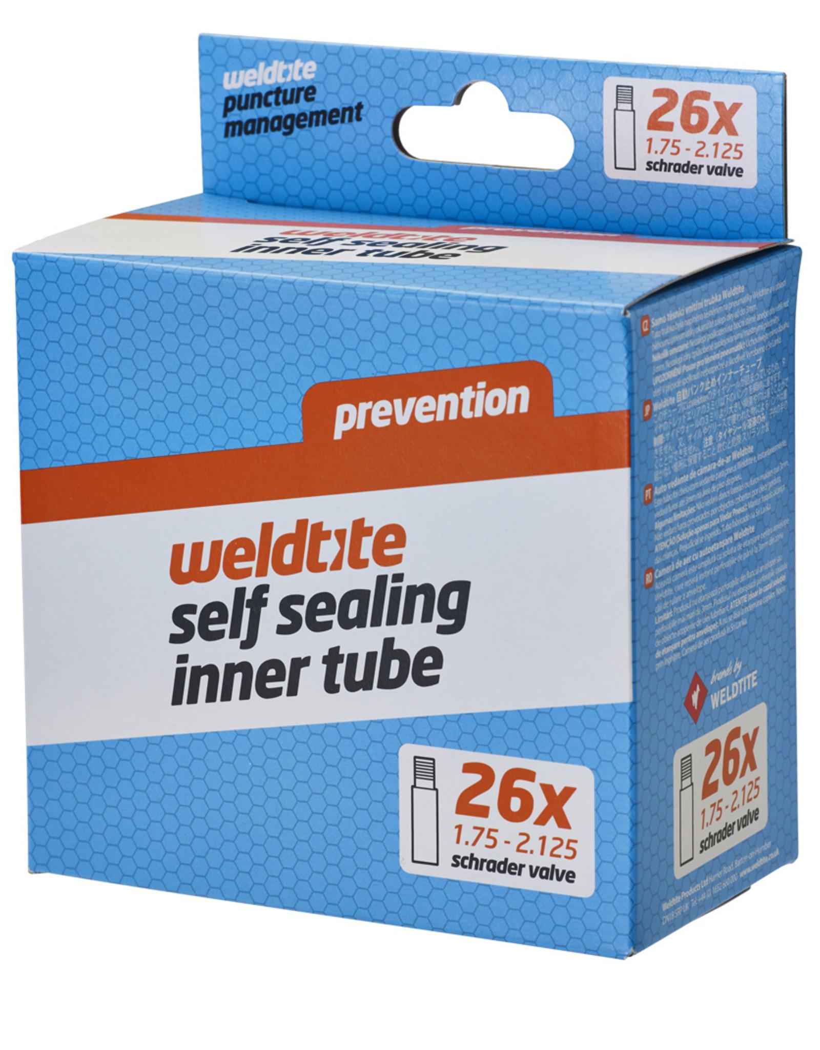 Weldtite Self Sealing Inner Tube - 26 x 1.50 - 2.10��� - Schrader