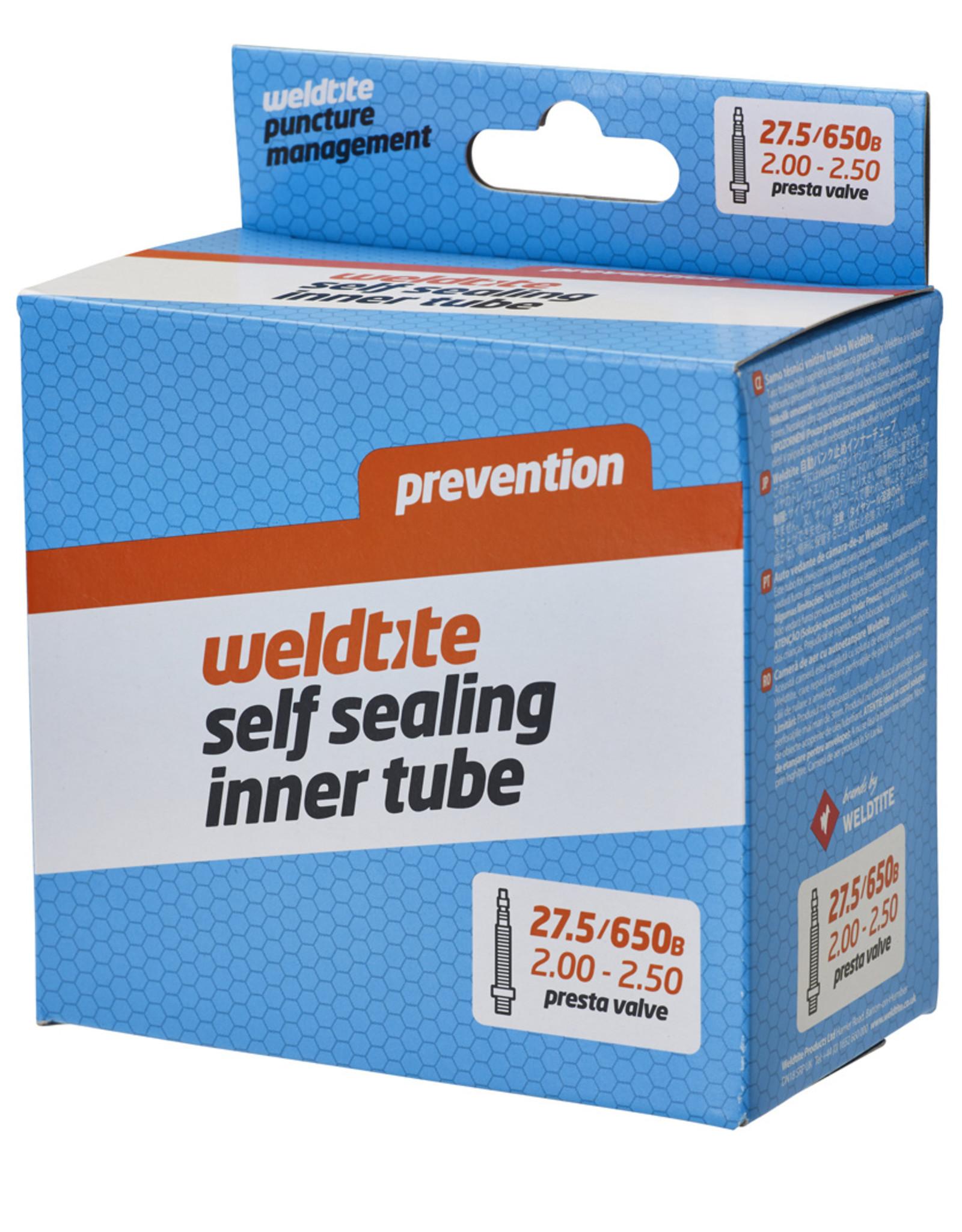 Weldtite Self Sealing Inner Tube - 27.5���/650B x 2.00 - 2.50��� - Presta