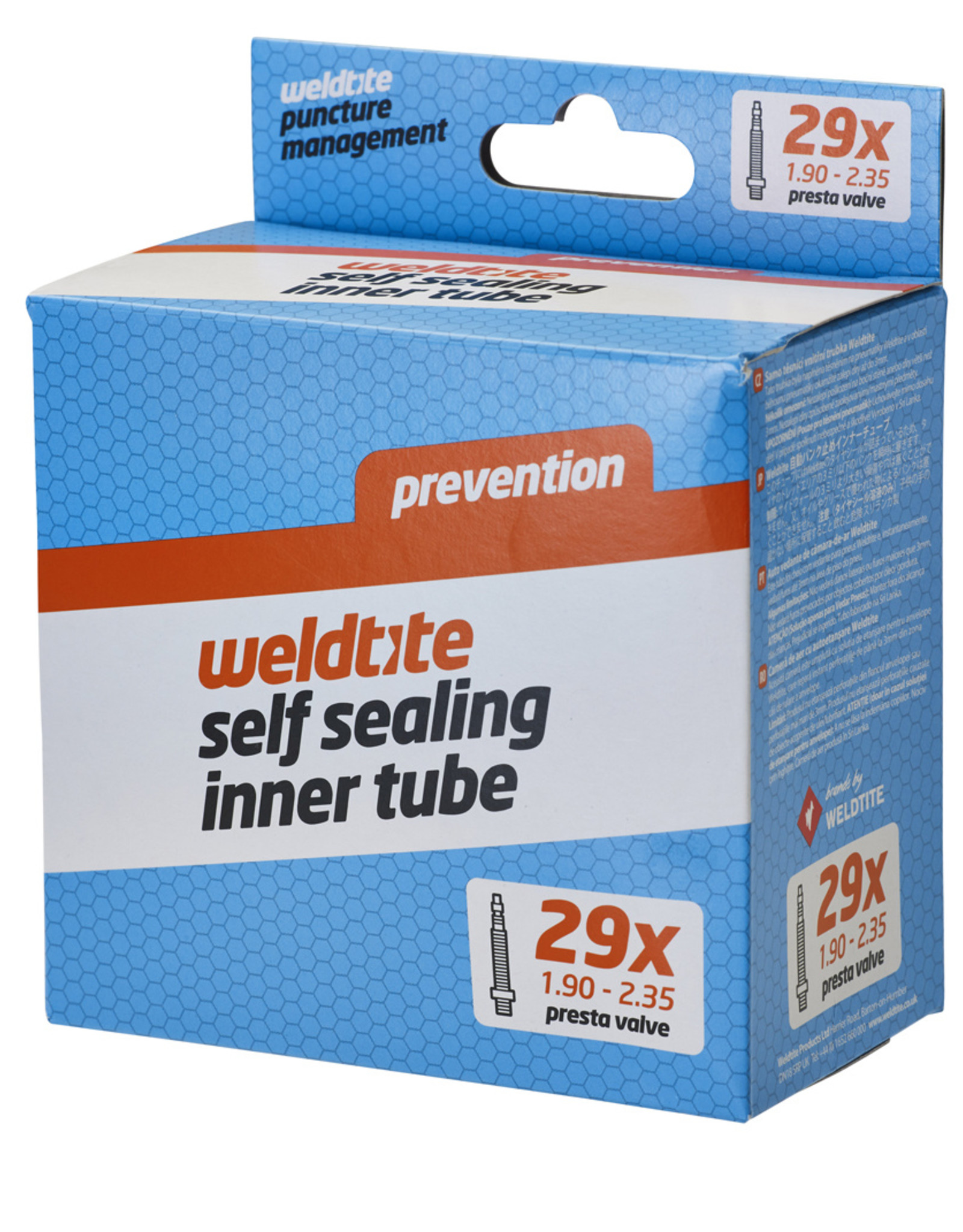 Weldtite Self Sealing Inner Tube - 29 x 1.90 - 2.35��� - Presta