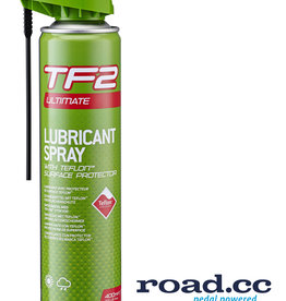 Weldtite TF2 Ultimate Spray Lube + Teflon - 400ml with Smart Head