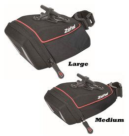 Zefal Iron TF Semi-Rigid Saddlebag (T-Shape Seatpost Fitting) Large 0.8L