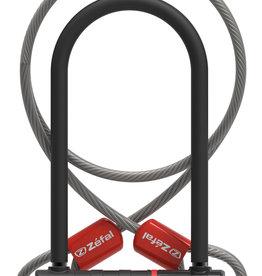 Zefal K-Traz U17 U-Lock wtih Cable 230mm. SOLD SECURE Gold