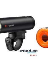 Ravemen CR1000 (1000 Lumens) / CL05 (30 Lumens) USB Rechargeable Twinset