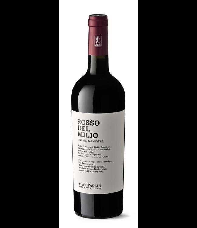Case Paolin Rosso Del Milio Merlot Carmeniere 75cl 2018