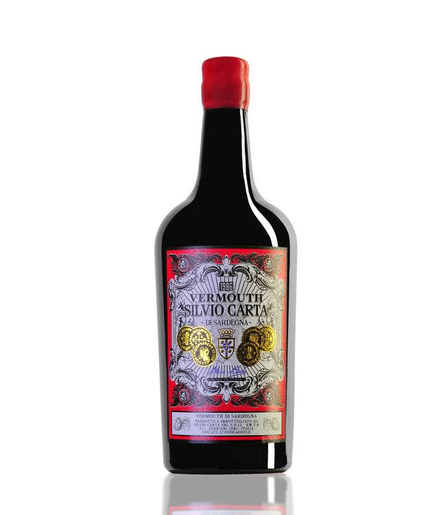 Silvio Carta Vermouth Rosso 18° 70cl