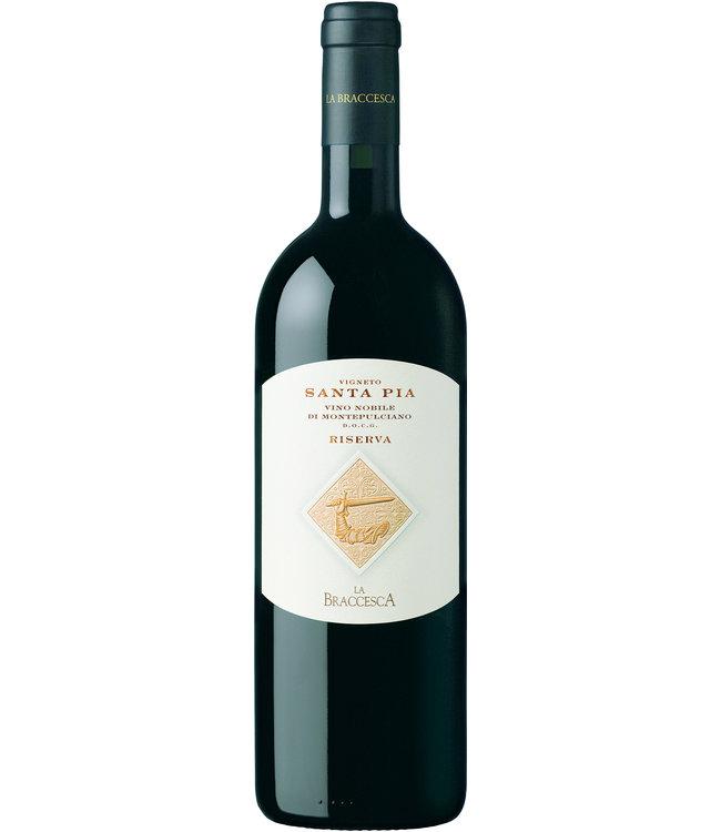 La Braccesca Santa Pia Vino Nobile di Montepulciano Riserva DOCG 2017 75cl