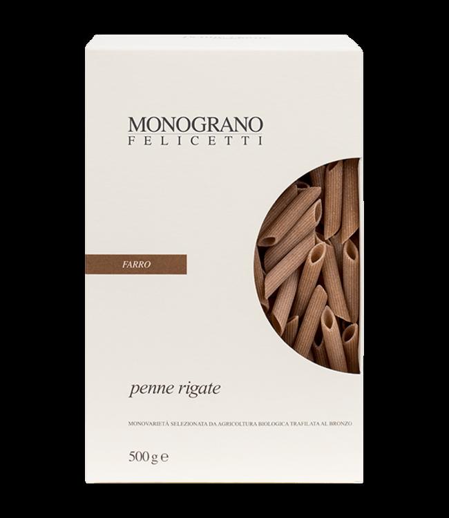 Felicetti Monograno Farro NR 152 Penne Rigate 500 GR
