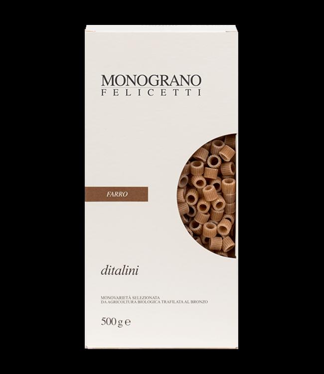 Felicetti Monograno Farro NR 23 Ditalini 500 GR