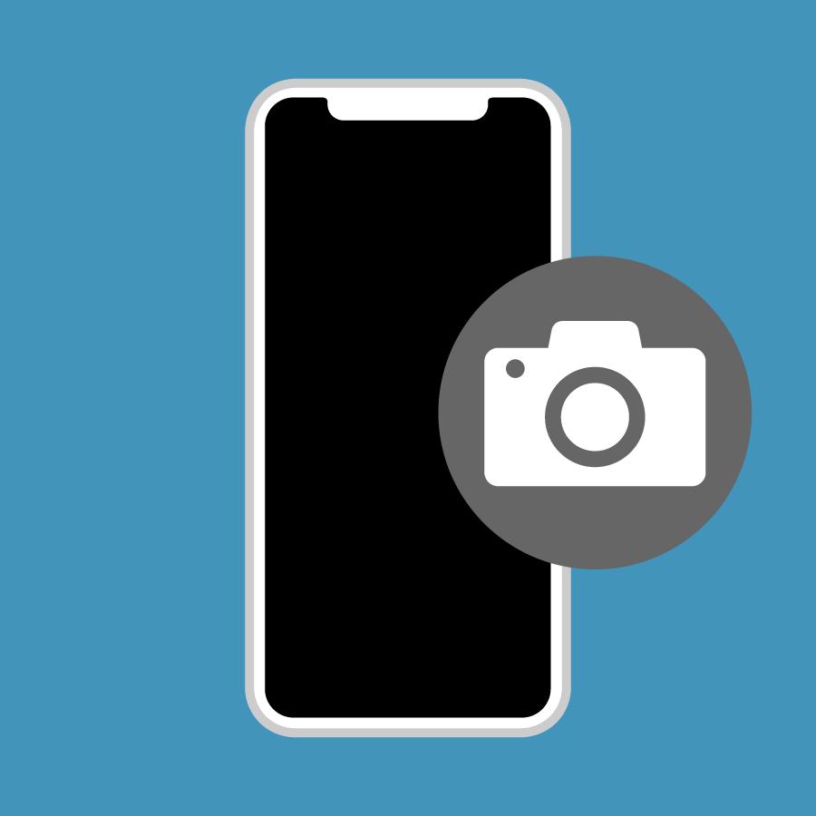 iPhone XS Max – Camera voorzijde reparatie-1