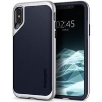 thumb-iPhone XS Max - Spigen  Neo Hybrid (zilver)-1