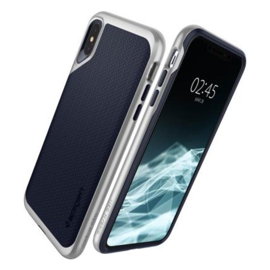 iPhone XS Max - Spigen  Neo Hybrid (zilver)-2