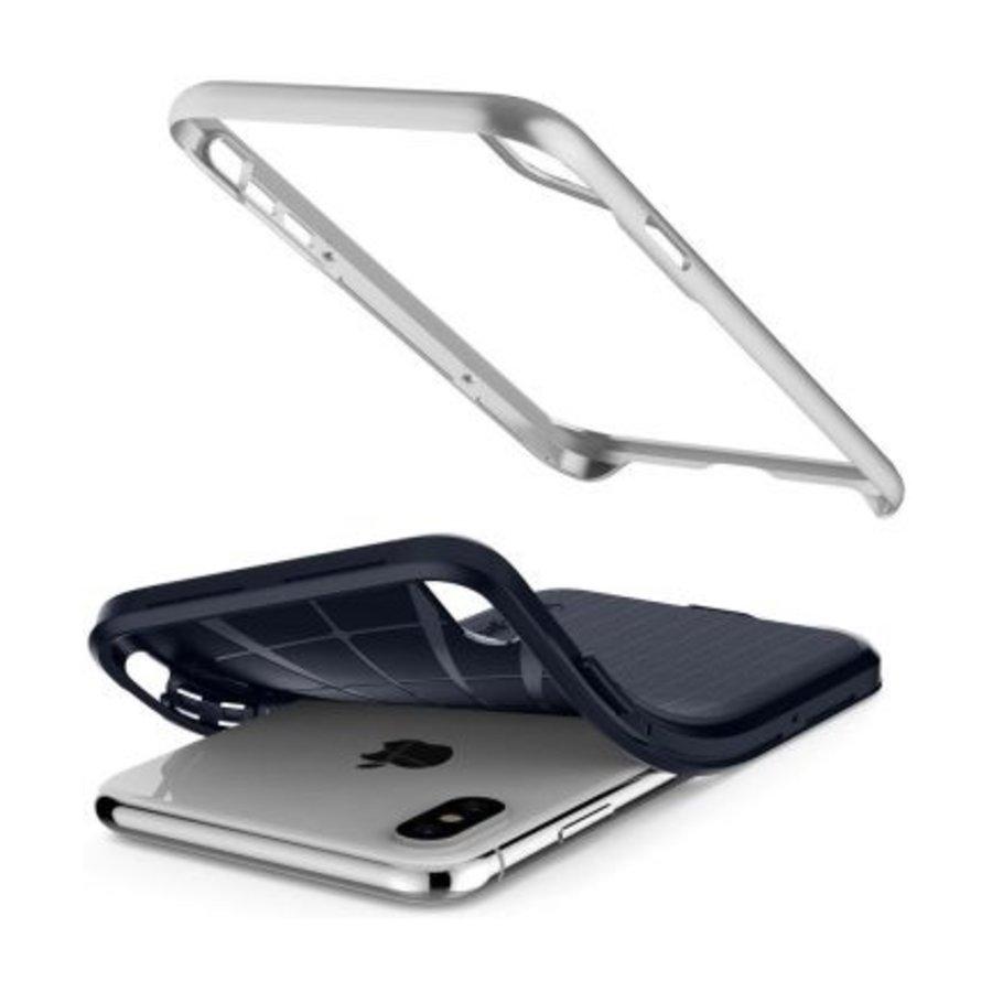 iPhone XS Max - Spigen  Neo Hybrid (zilver)-3